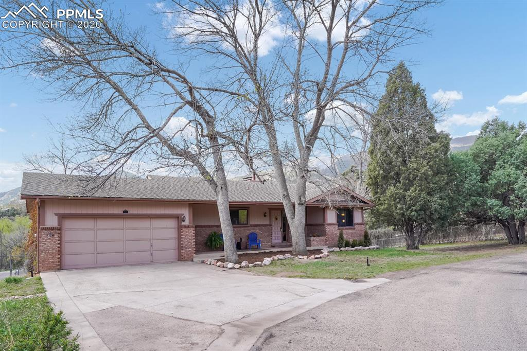 Photo for 215 Rockledge Court, Manitou Springs, CO 80829 (MLS # 5677854)