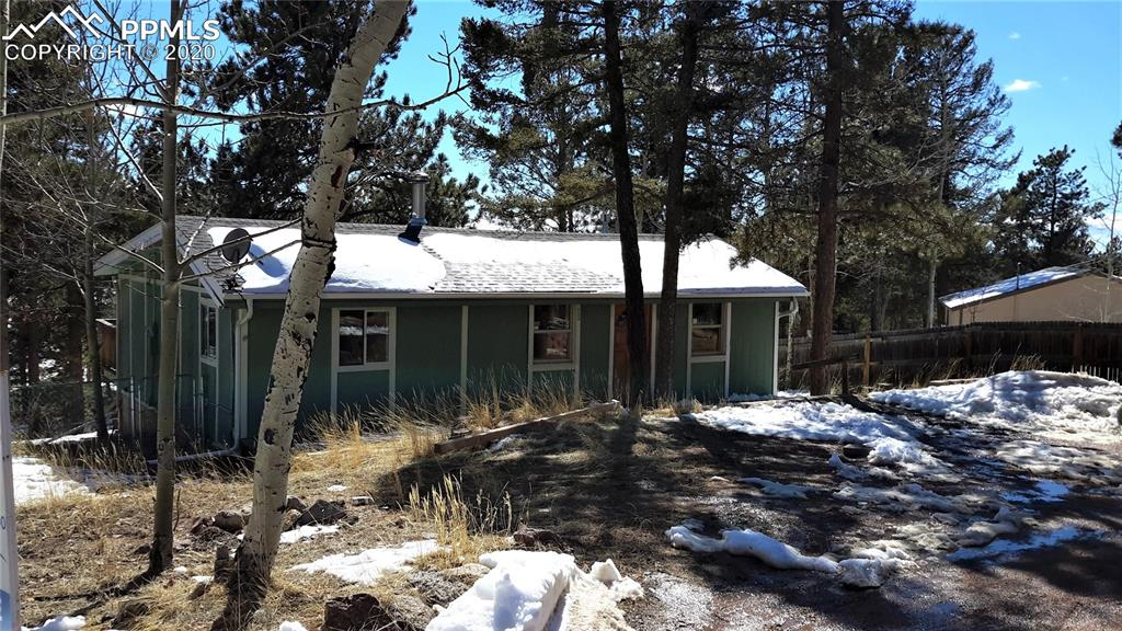Photo for 985 Blossom Road, Woodland Park, CO 80863 (MLS # 5932434)