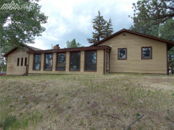 Photo of 780 Lovell Gulch Road, Woodland Park, CO 80863 (MLS # 6075338)