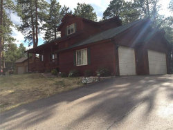 Photo of 1310 Masters Drive, Woodland Park, CO 80863 (MLS # 6502850)