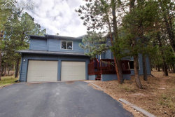 Photo of 1317 Evergreen Heights Drive, Woodland Park, CO 80863 (MLS # 6557034)