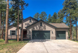 Photo of 1182 Ptarmigan Drive, Woodland Park, CO 80863 (MLS # 7066313)