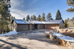 Photo of 333 Highview Court, Woodland Park, CO 80863 (MLS # 7651212)