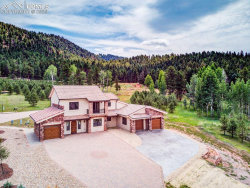 Photo of 841 Majestic Parkway, Woodland Park, CO 80863 (MLS # 7783300)
