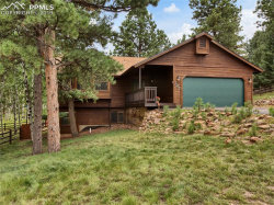 Photo of 727 Pinon Ridge Drive, Woodland Park, CO 80863 (MLS # 7950285)