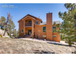 Photo of 525 Sunrise Peak Road, Manitou Springs, CO 80829 (MLS # 8310752)