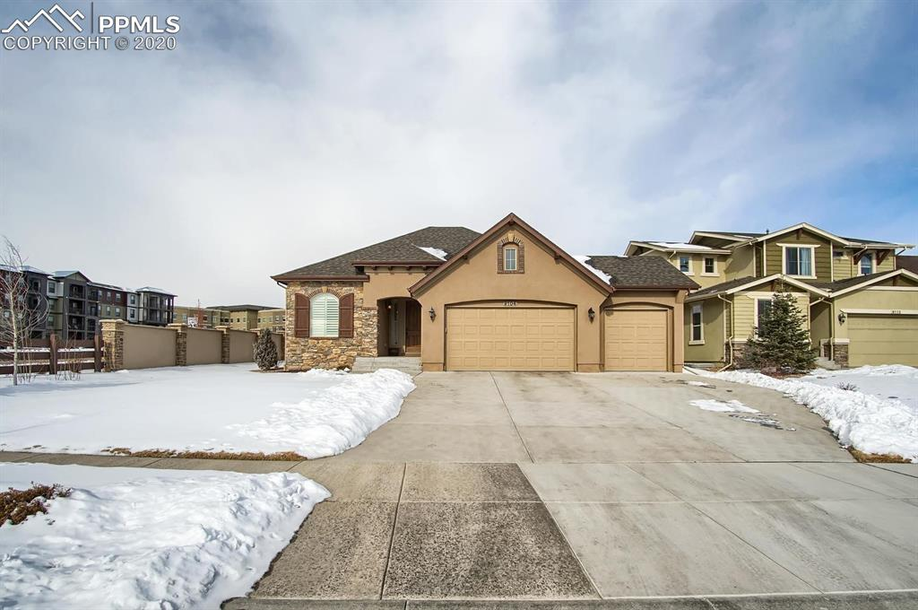 Photo for 9104 Argentine Pass Trail, Colorado Springs, CO 80924 (MLS # 8436838)