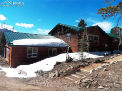 Photo of 166 Elk Lane, Woodland Park, CO 80863 (MLS # 8524375)