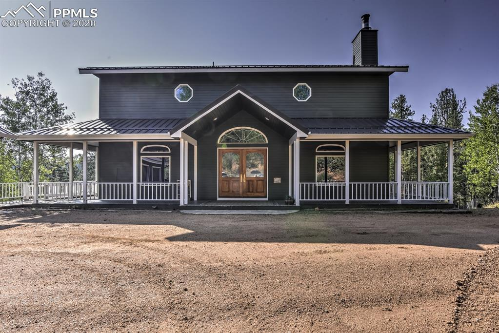 Photo for 4265 Trout Creek Road, Woodland Park, CO 80863 (MLS # 8533944)