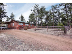 Photo of 277 HOMESTEAD Lane, Florissant, CO 80816 (MLS # 8732185)