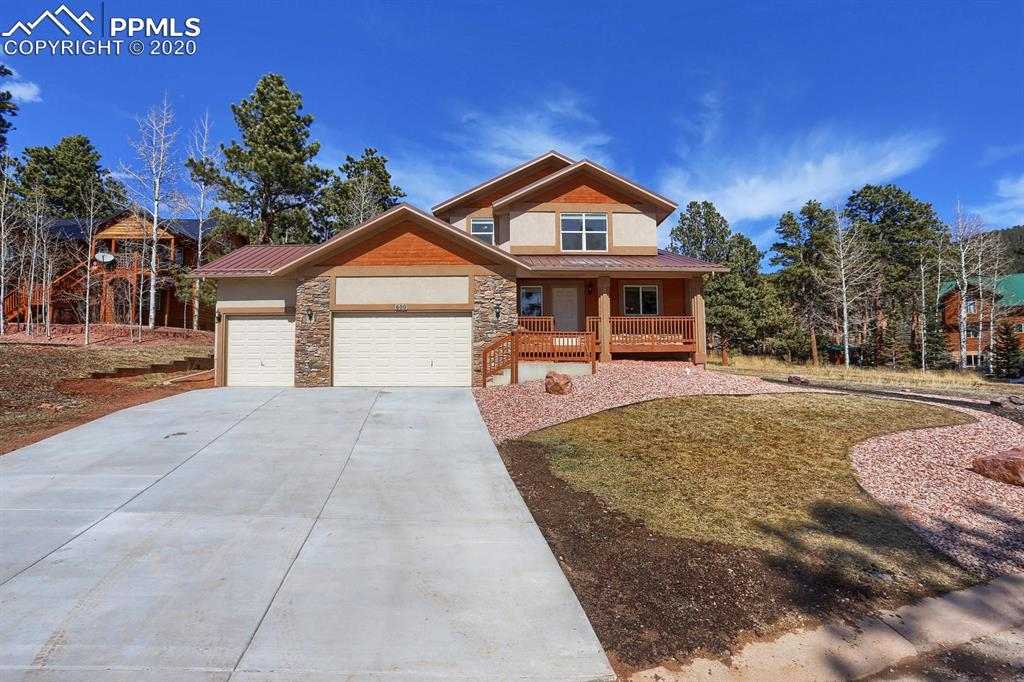 Photo for 600 Skyline Drive, Woodland Park, CO 80863 (MLS # 8951214)