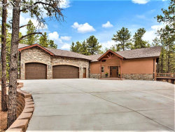 Photo of 1241 Woodland Valley Ranch Drive, Woodland Park, CO 80863 (MLS # 9190681)