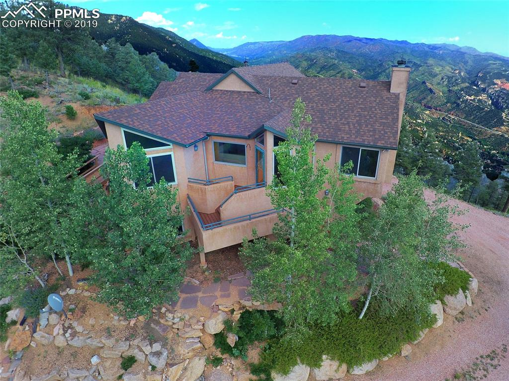 Photo for 5675 Crystal Park Road, Manitou Springs, CO 80829 (MLS # 9463578)