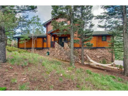 Photo of 6780 Eagle Mountain Road, Manitou Springs, CO 80829 (MLS # 9584316)