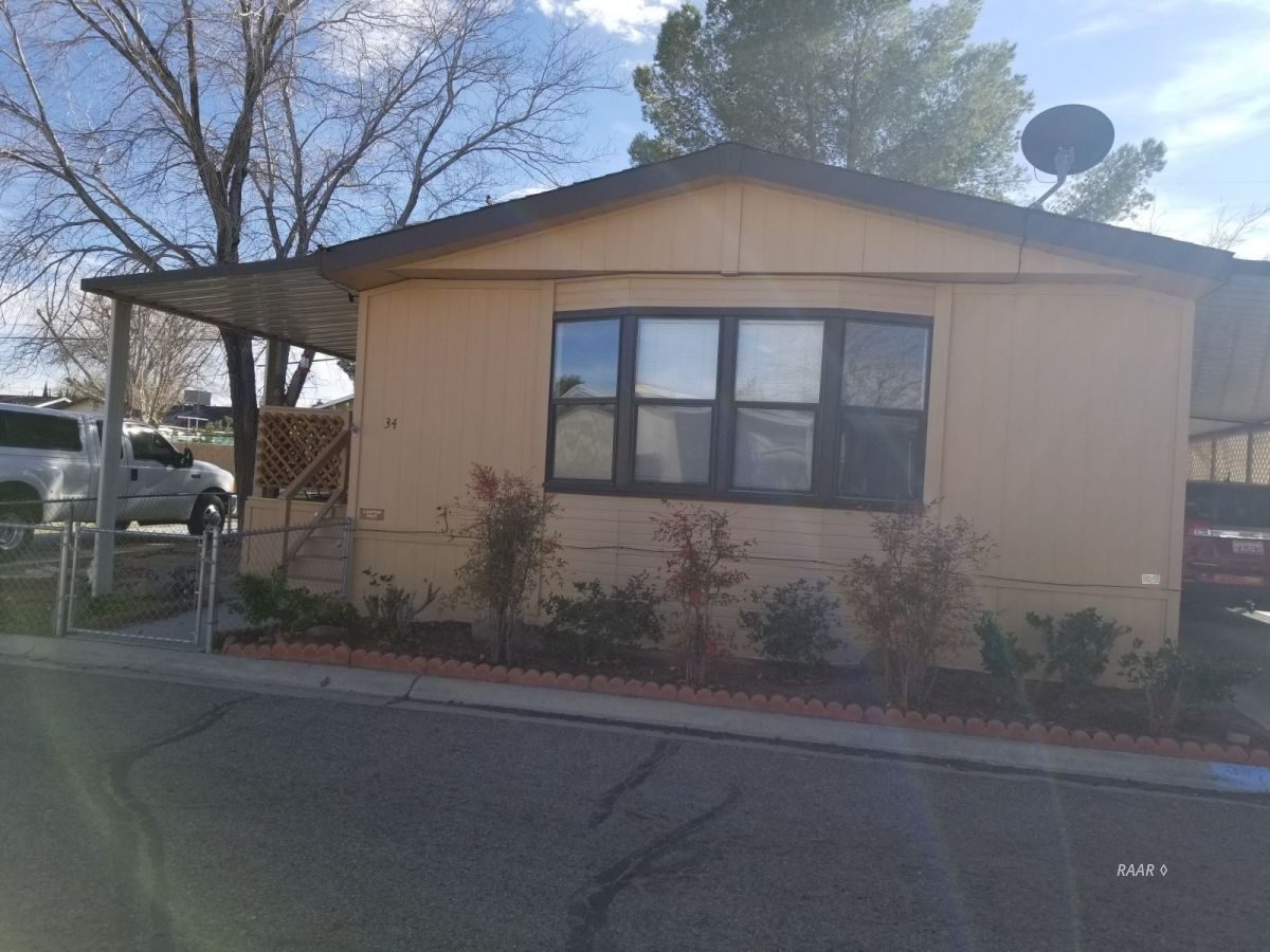 Photo for N 1600 Norma ST Unit # 34, Ridgecrest, CA 93555 (MLS # 1956696)