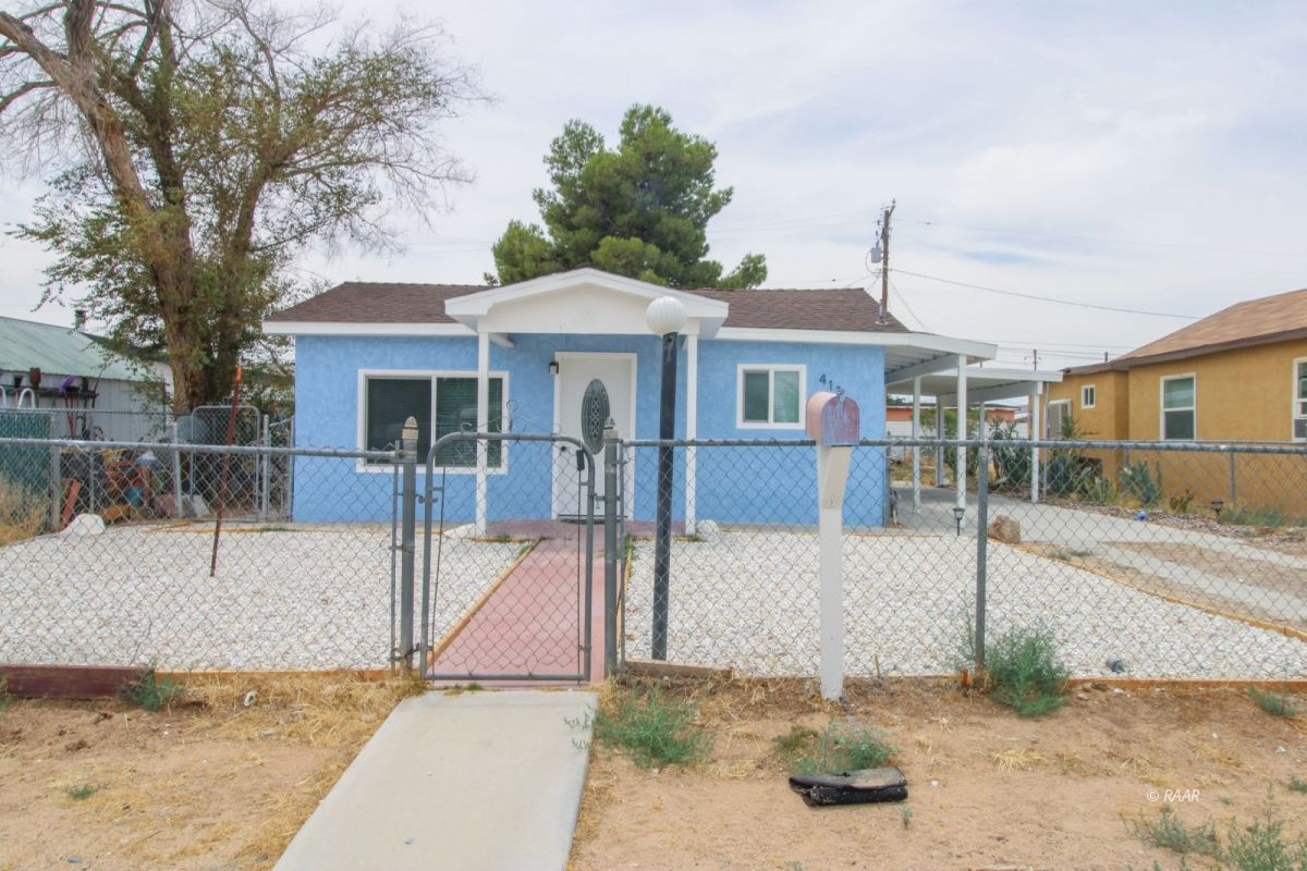Photo for 413 W Haloid ST, Ridgecrest, CA 93555 (MLS # 1957219)