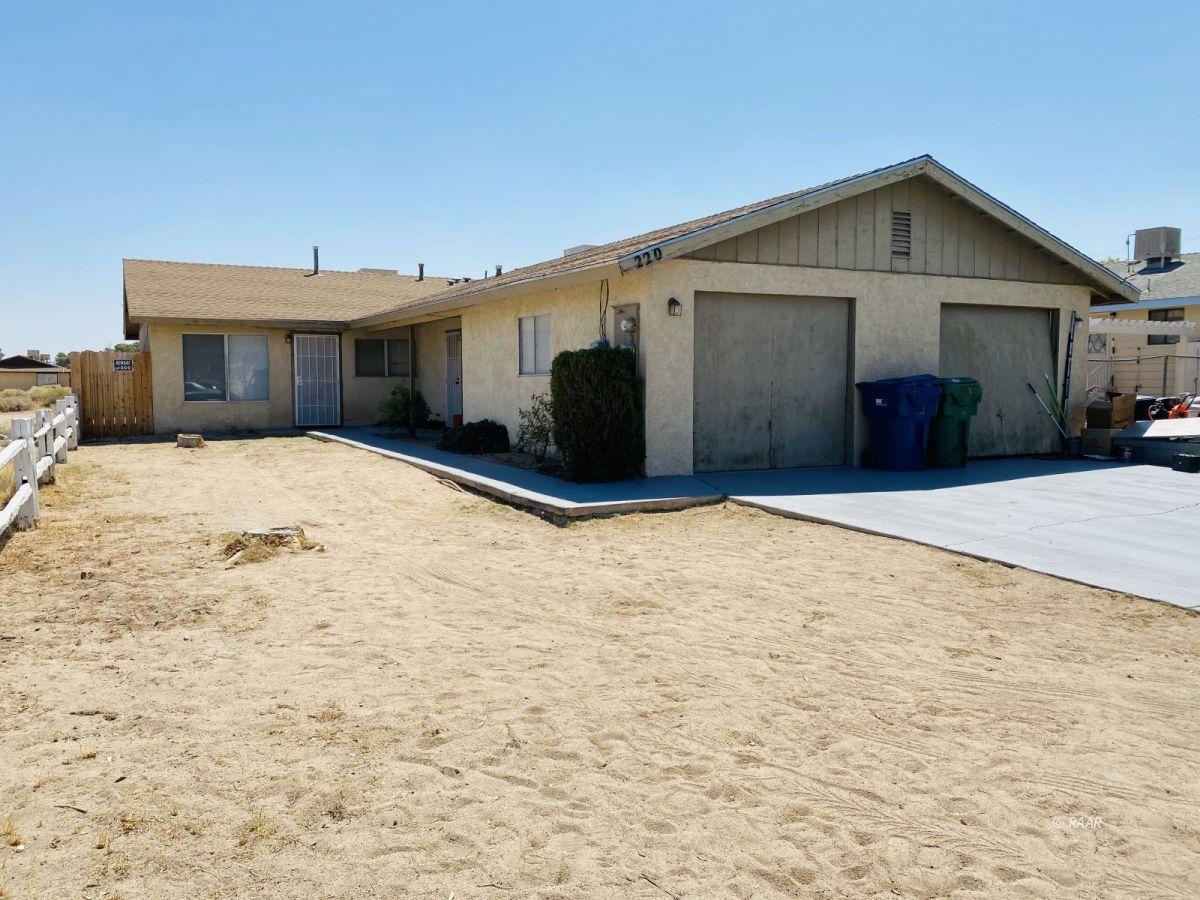Photo for 220 S Valley ST, Ridgecrest, CA 93555 (MLS # 1957354)