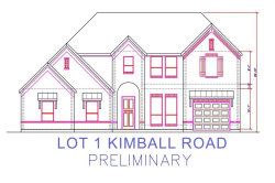 Photo of Lot 1 Kimball Road, Grapevine, TX 76051 (MLS # 13439754)