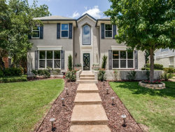 Photo of 4630 Beverly Drive, Highland Park, TX 75209 (MLS # 13700629)