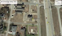 Photo of 201 S Frontage Road, Lot 1, Valley View, TX 76272 (MLS # 13768630)
