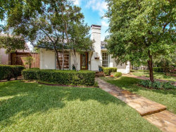 Photo of 4651 Westside Drive, Highland Park, TX 75209 (MLS # 13950981)