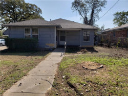 Photo of 516 Ruth Street, Denton, TX 76205 (MLS # 13972484)
