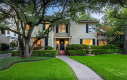 Photo of 4606 Beverly Drive, Highland Park, TX 75209 (MLS # 13975003)