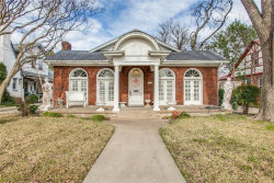 Photo of 720 Lipscomb Avenue, Dallas, TX 75214 (MLS # 14036398)
