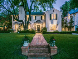 Photo of 4425 Rheims Place, Highland Park, TX 75205 (MLS # 14124918)