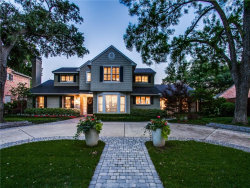 Photo of 4665 Beverly Drive, Highland Park, TX 75209 (MLS # 14125887)