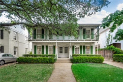 Photo of 4136 Grassmere Lane, University Park, TX 75205 (MLS # 14170212)