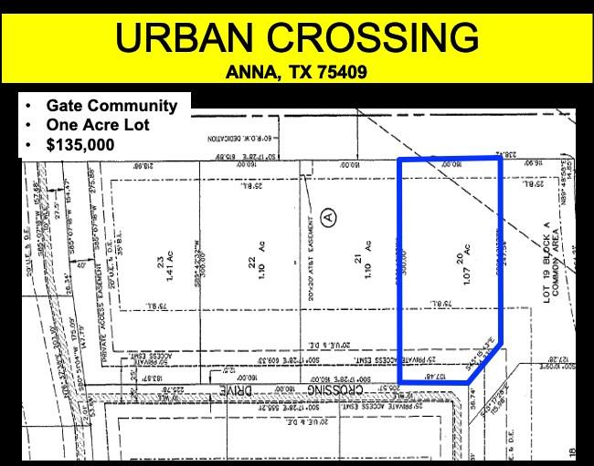 Photo for 3015 Crossing Drive, Lot 22R, Anna, TX 75409 (MLS # 14396025)
