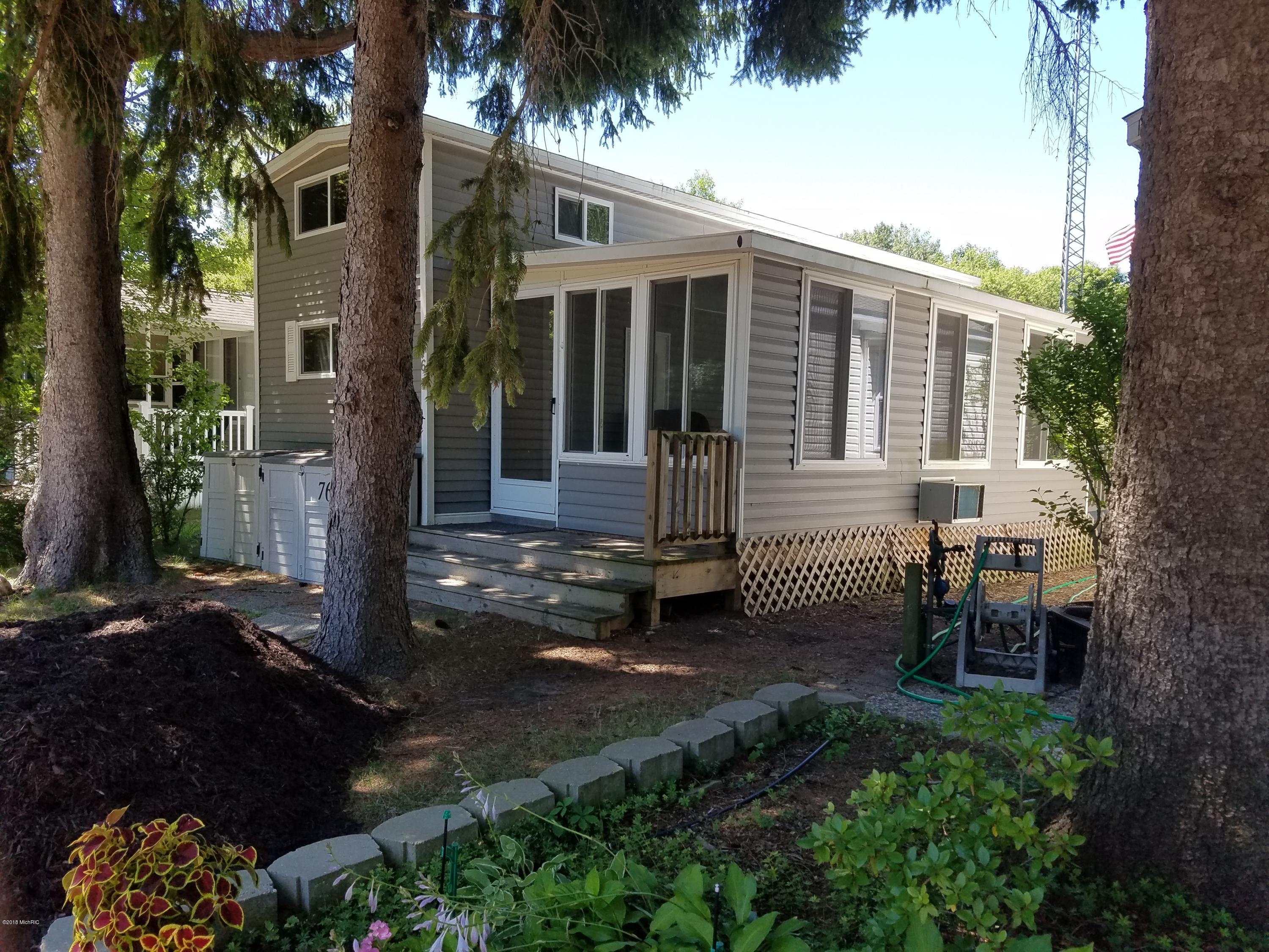 Photo for 6473 Blue Star Highway, Unit Lot 76, Saugatuck, MI 49453 (MLS # 18034835)