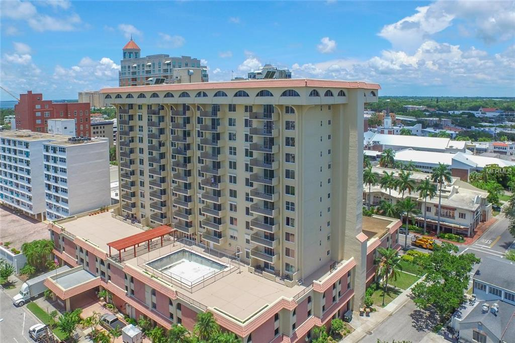 Photo for 101 S Gulfstream Avenue, Unit 16B, SARASOTA, FL 34236 (MLS # A4159233)