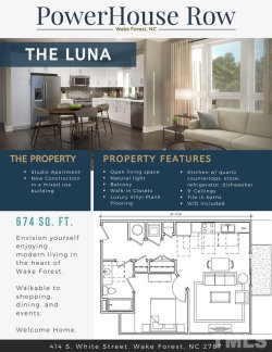 Photo of 414-209 S White Street , 209, Wake Forest, NC 27587 (MLS # 2311885)