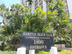Photo of 1800 South Ocean Blvd, Unit 1202, Lauderdale By The Sea, FL 33062 (MLS # A10256294)