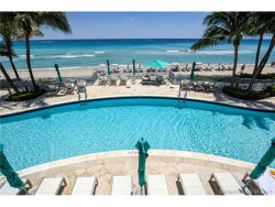 Photo of 3535 South Ocean Dr, Unit 1204, Hollywood, FL 33019 (MLS # A10264501)
