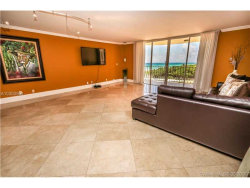 Photo of 8777 Collins Ave, Unit 610, Surfside, FL 33154 (MLS # A10300991)