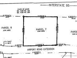 Photo of Lot #7 Airport Road Extension, Waterville, ME 04901 (MLS # 1296552)