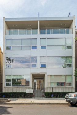 Photo of 1443 W Thomas Street, Unit Number 2E, CHICAGO, IL 60642 (MLS # 09671072)