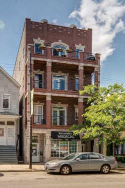 Photo of 2317 W Belmont Avenue, Unit Number 2, CHICAGO, IL 60618 (MLS # 09696019)