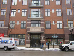 Photo of 3631 N Halsted Street, Unit Number 208, CHICAGO, IL 60613 (MLS # 09803149)