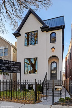 Photo of 3416 N Bell Street, CHICAGO, IL 60618 (MLS # 09833706)