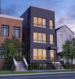 Photo of 2302 N Hoyne Avenue, Unit Number 1, CHICAGO, IL 60647 (MLS # 09953978)