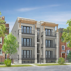 Photo of 2525 W Gunnison Street, Unit Number 2E, CHICAGO, IL 60625 (MLS # 09956939)