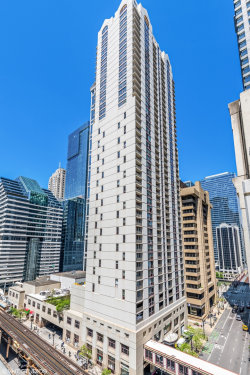 Photo of 200 N Dearborn Street, Unit Number 3505, CHICAGO, IL 60601 (MLS # 09961720)