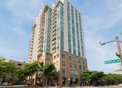 Photo of 1640 Maple Avenue, Unit Number 707, EVANSTON, IL 60201 (MLS # 10019715)