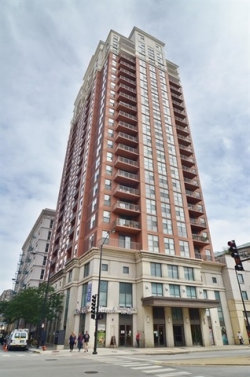 Photo of 1101 S State Street, Unit Number 1406, CHICAGO, IL 60605 (MLS # 10019919)