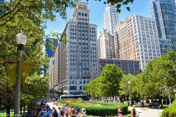 Photo of 6 N Michigan Avenue, Unit Number 803, CHICAGO, IL 60602 (MLS # 10068469)