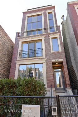 Photo of 860 N Paulina Street, Unit Number 3, CHICAGO, IL 60622 (MLS # 10133907)
